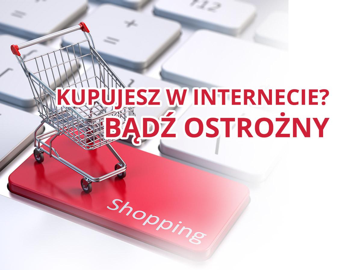 Zalecamy ostrożność przed zakupami w sklepie: lowcyokazji.net