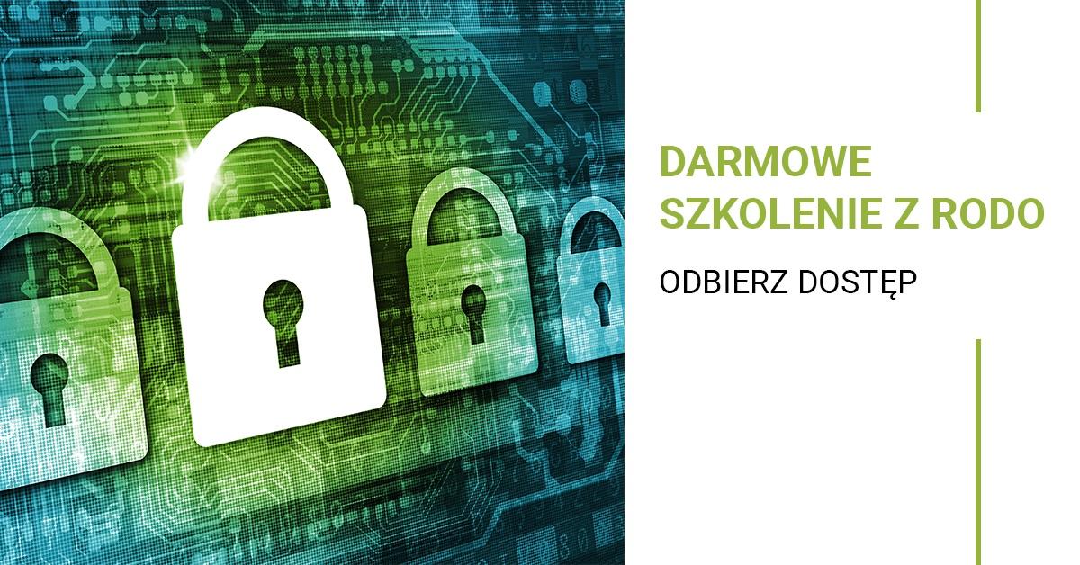 Darmowe szkolenie z RODO na Legalniewsieci.pl