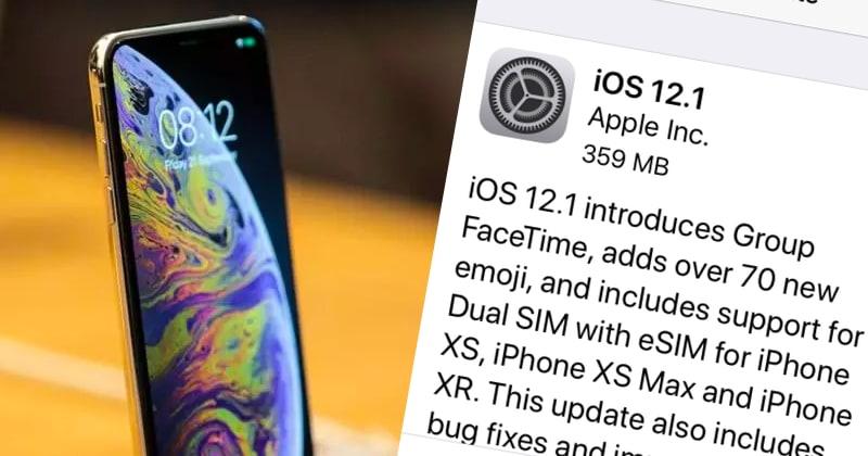 Chwilę po wydaniu iOS 12.1 wykryto lukę w iphonie