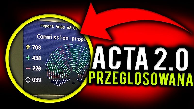 Co jest najbardziej kontrowersyjne w unijnej dyrektywie zwanej ACTA 2.0?