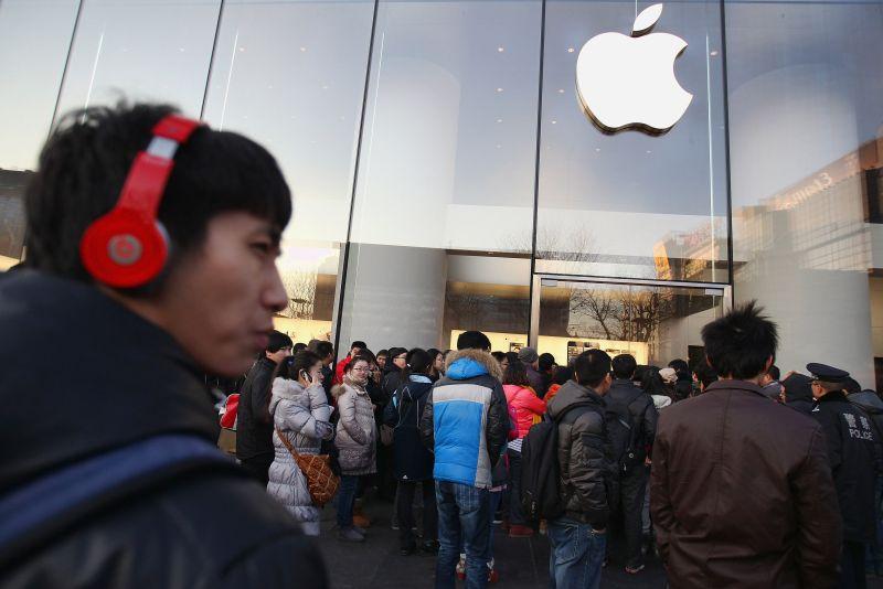 Apple idzie na rękę chińskiemu rządowi
