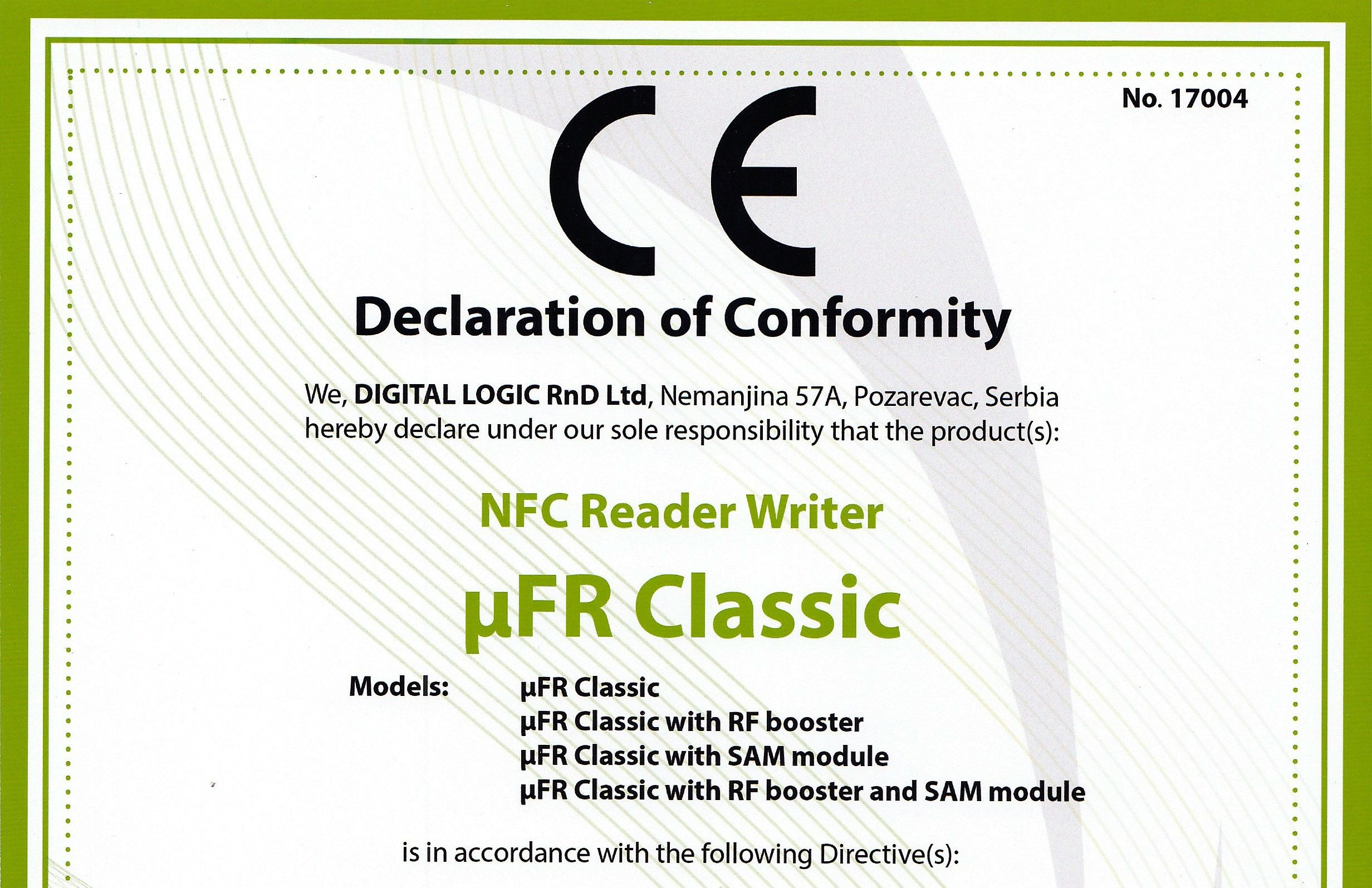 O znaku CE słów kilka